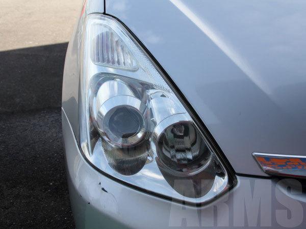 ヘッドライトの黄ばみ修理