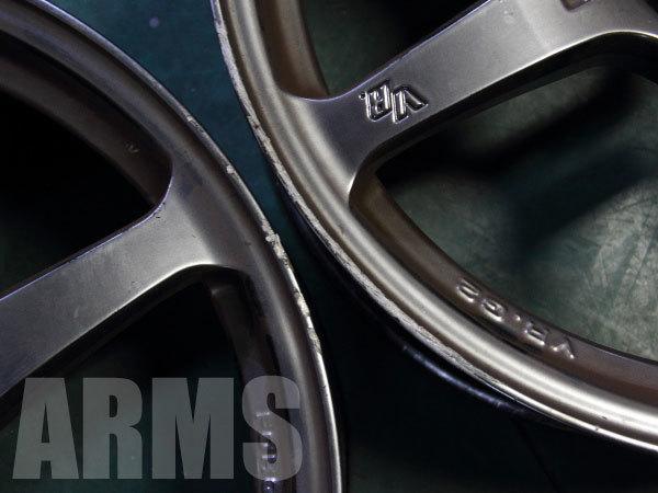 レイズの鍛造アルミホイール VR.G2