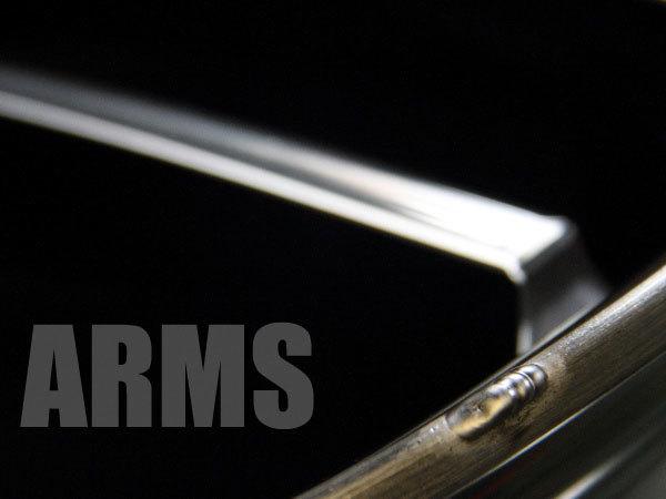 アルミ溶接にて傷を修理