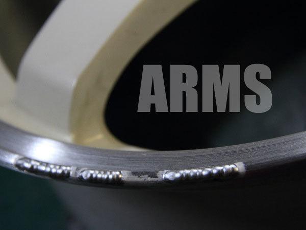 アルミ溶接で傷を修復