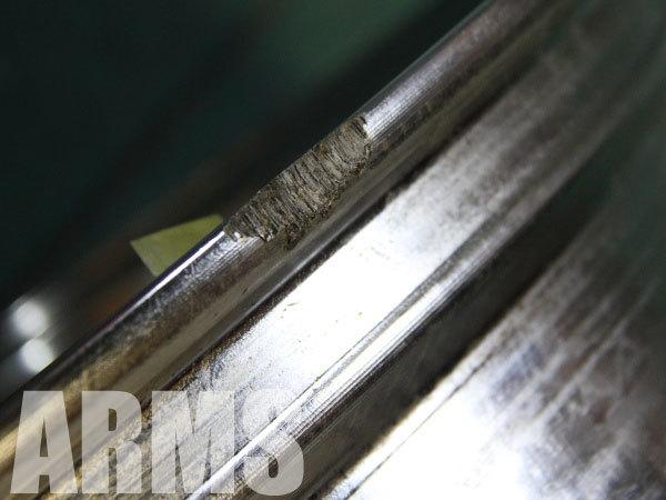 ホイールのガリ傷を修理