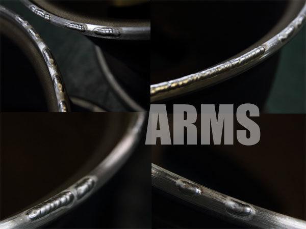アルミ溶接でホイールを修理
