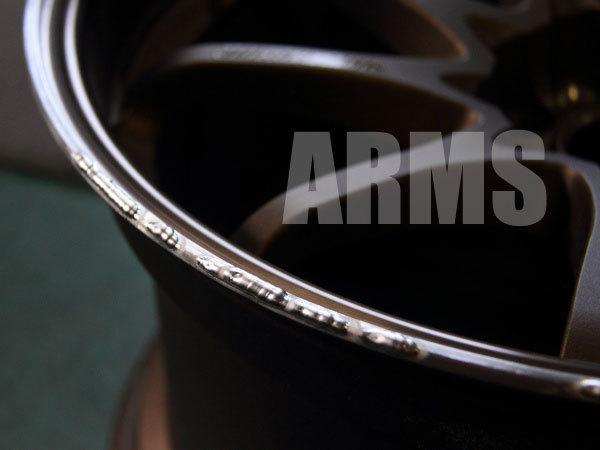 アルミ溶接にてホイールリムを修理