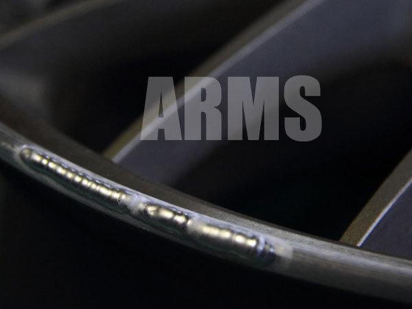 ホイールのアルミ溶接修理