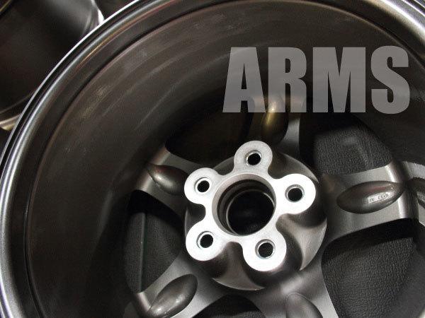 GTRのアルミホイールを修理