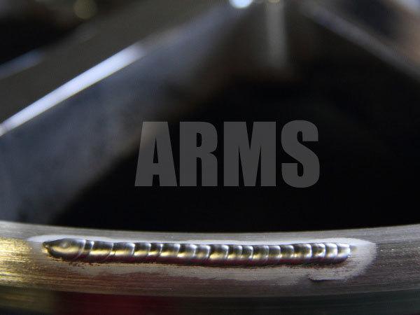 削れたアルミを溶接で修復