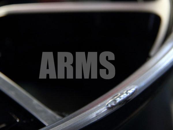 アルミ溶接で修復