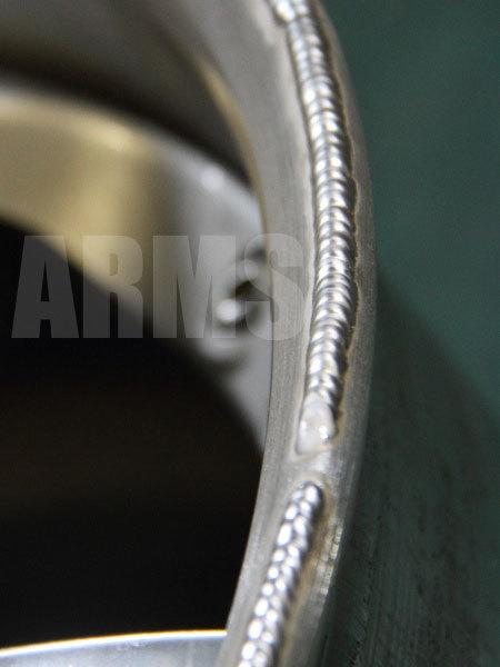 美しいアルミ溶接