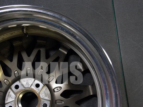 クリムソン RS アルミホイール 曲がりの修理