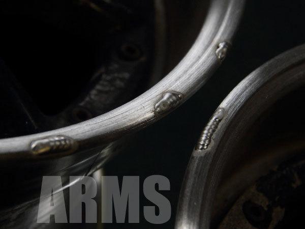 RS-8ホイールを修理