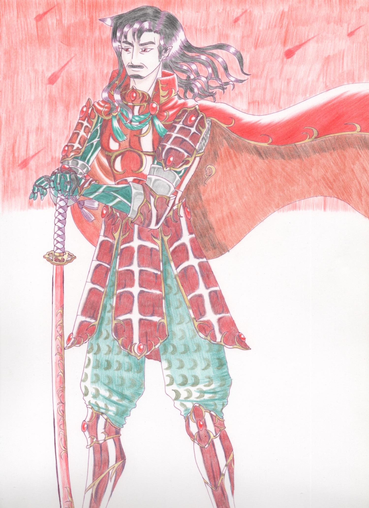 緋色の軍神