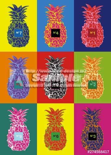 パイナップル クレイジーカラー