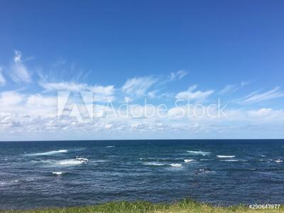 空、海、広がる地平線 290647977