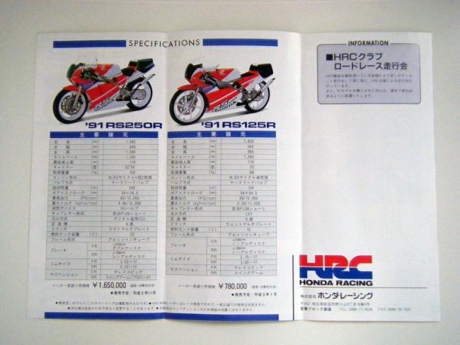 1991 HONDA RS