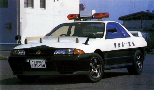 32GTR 白黒パト 神奈川県警 厚木 1991 平成