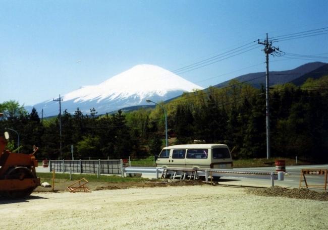 90年 富士スピードウェイ 富士山