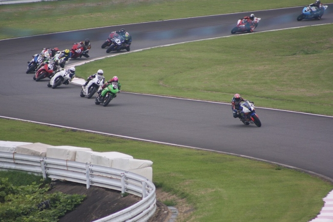 2019九州ロードレース選手権第5戦SPA直入 ST600決勝