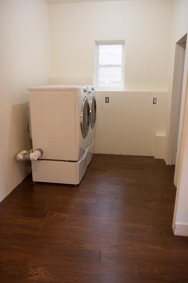 洗濯機置いた1