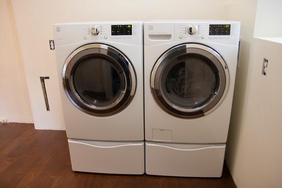 洗濯機置いた2