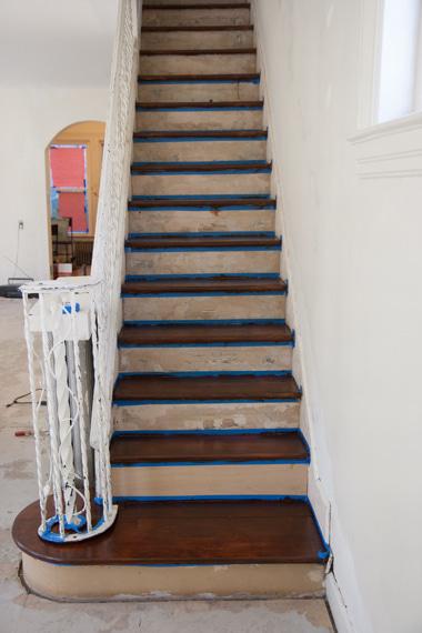 階段ステイン終了