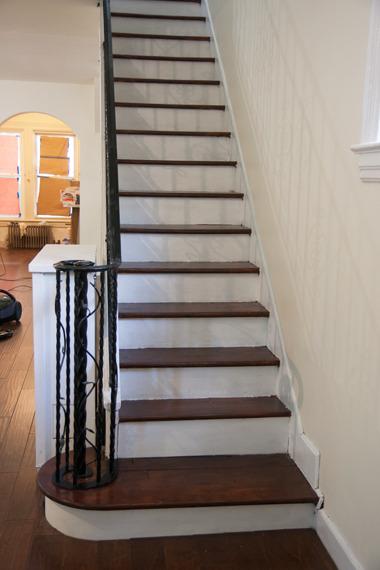 1階階段できあがり