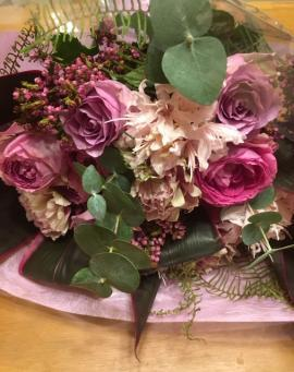 発表会の花束