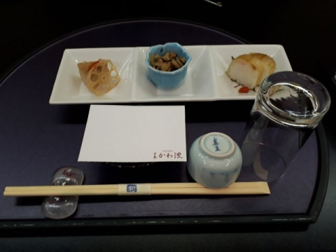 かわ波・H30・7 料理1