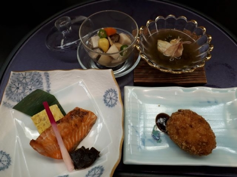 かわ波・H30・7 料理4