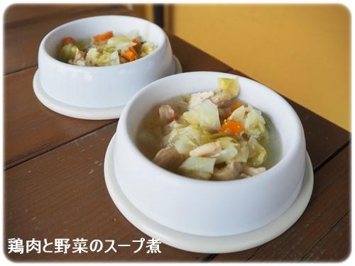 鶏肉と野菜のスープ煮