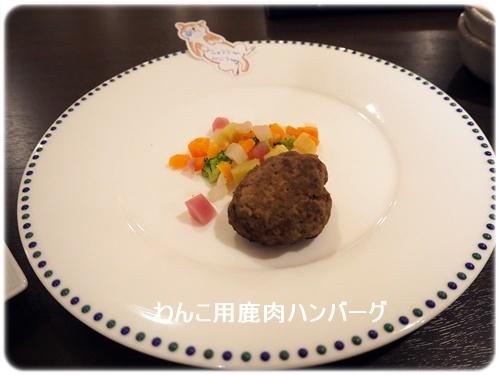 わんこ用鹿肉ハンバーグSサイズ