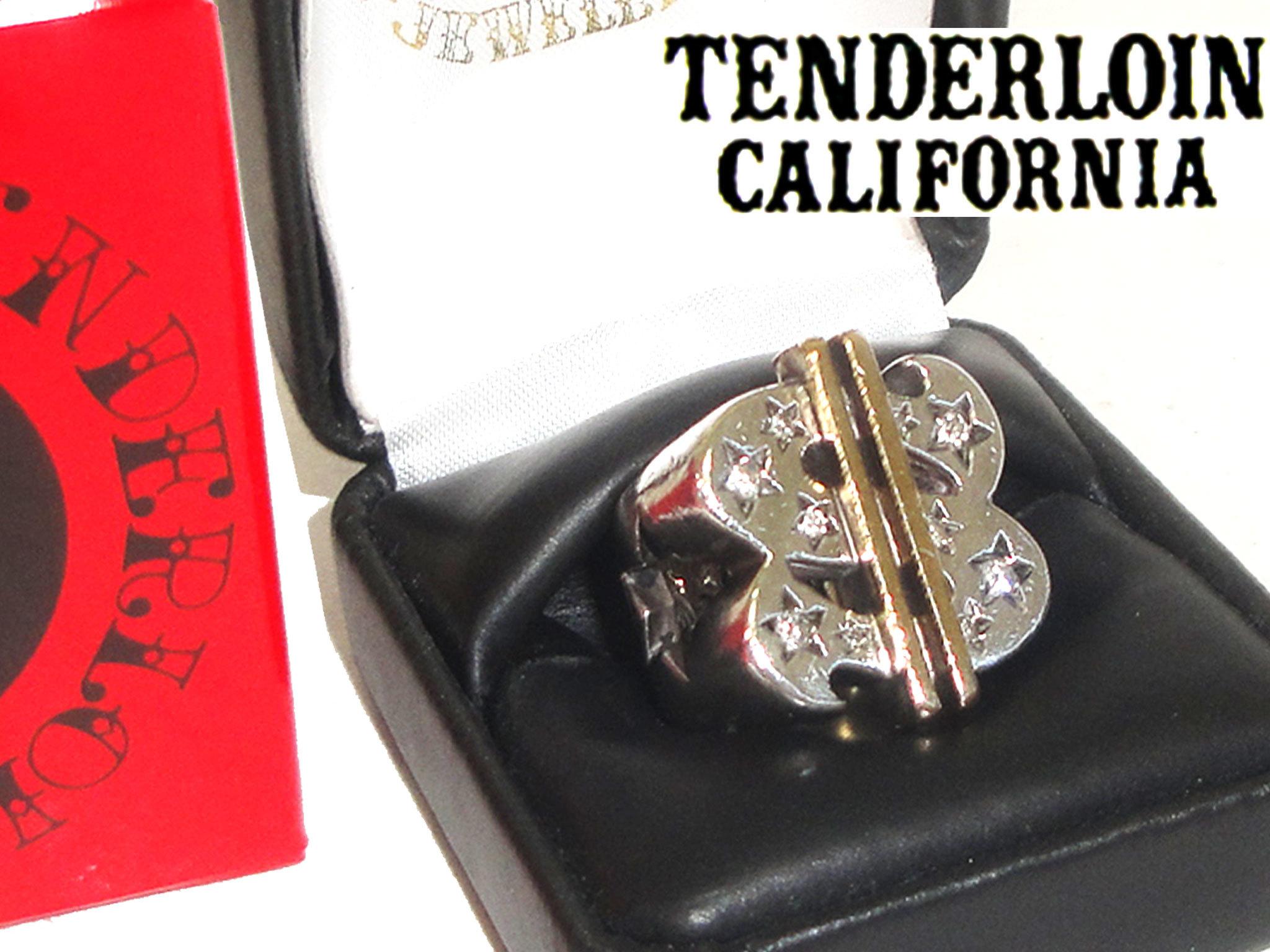 お買取商品テンダーロインTENDERLOIN×ギャルソンダラーリングダイヤ