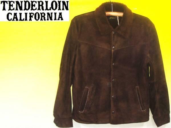 お買取商品テンダーロインTENDERLOINジャケット2012年モデル T-SADDLE SUEDE 定価134,400円