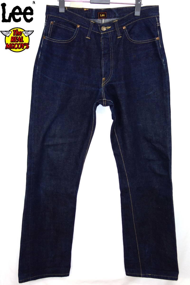 ザリアルマッコイズTheREALMcCOYSマッコイ×LEE101-Bデニムパンツ32ジーンズ