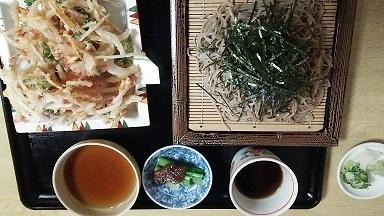 下社春宮 蕎麦屋さん (1)