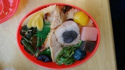 横川SA だるま弁当