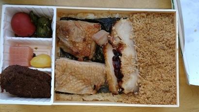 横川SA 鶏めし弁当