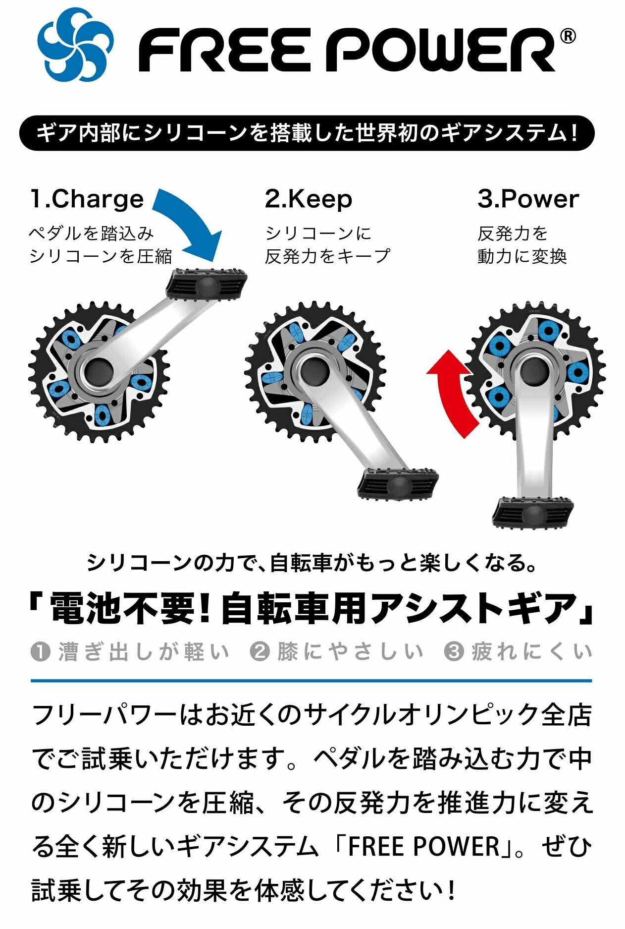 自転車 あさひ パワー 🤲フリー FREE POWER(フリーパワー)は「あさひ」や「アマゾン」など通販で買える?