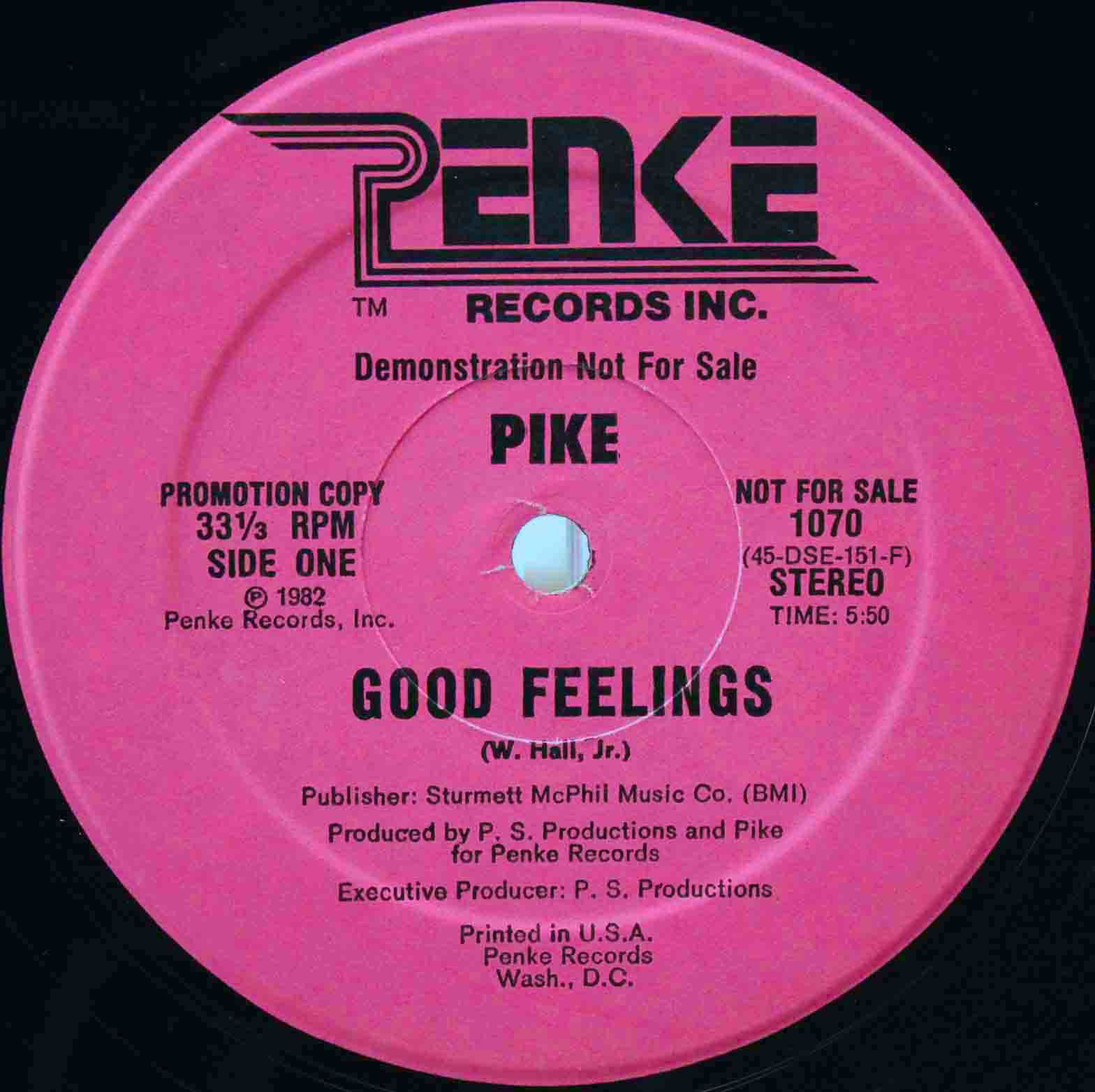 Pike Good feelin 03