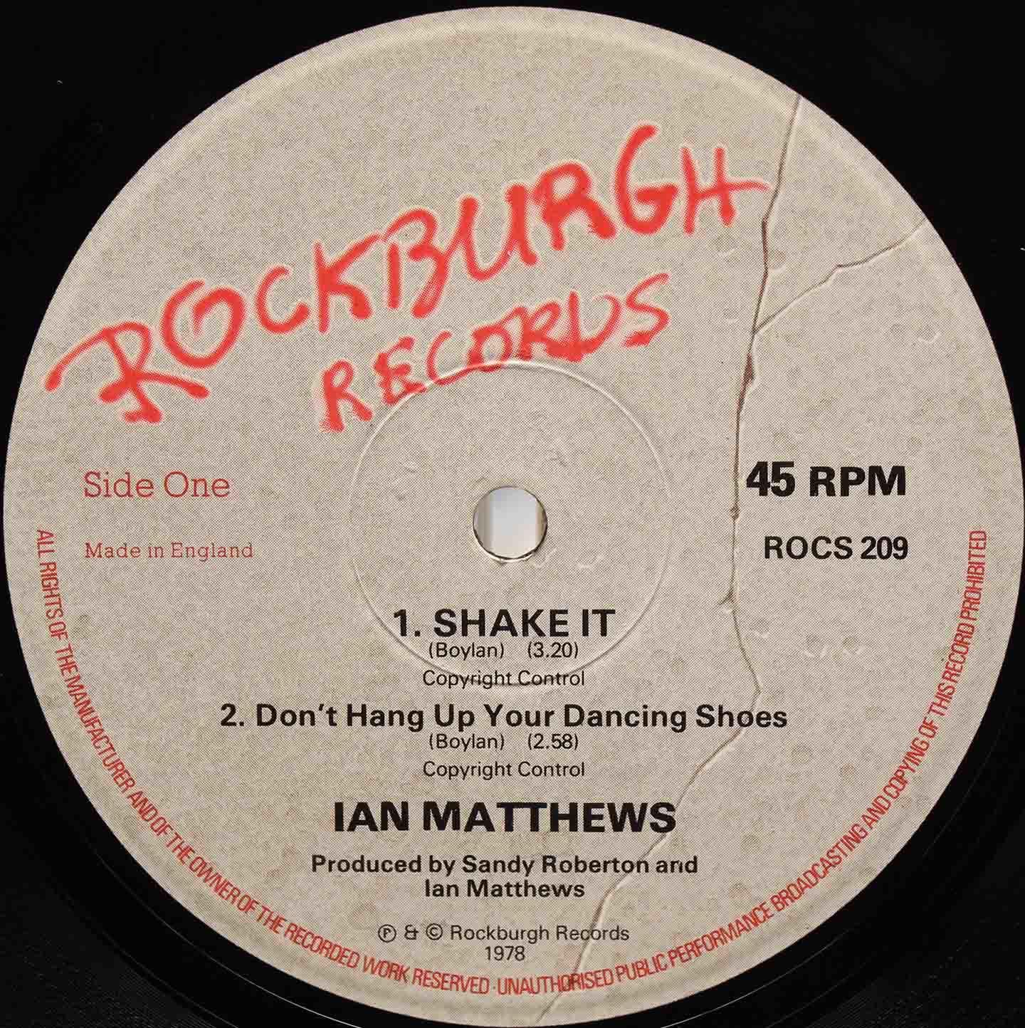 Ian Matthews Shake It 03