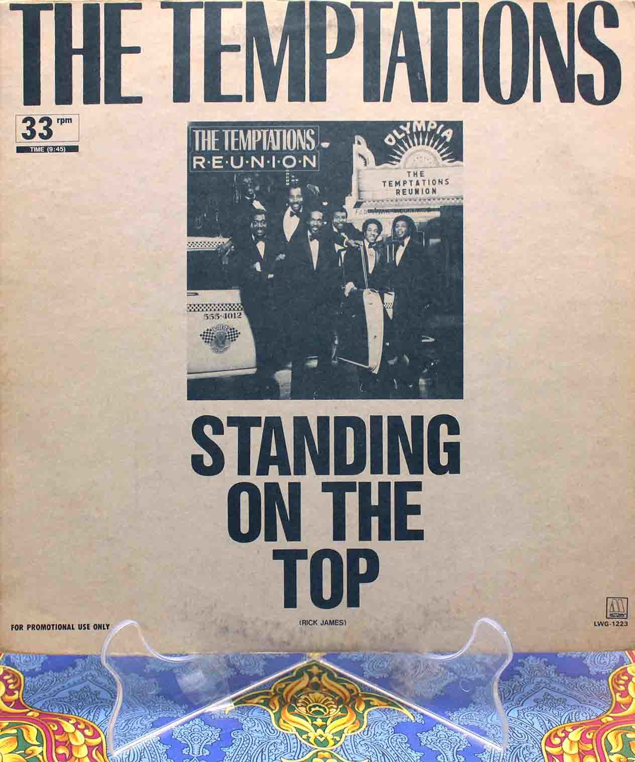 The Temptations - Standing On the Top Japan 12 01