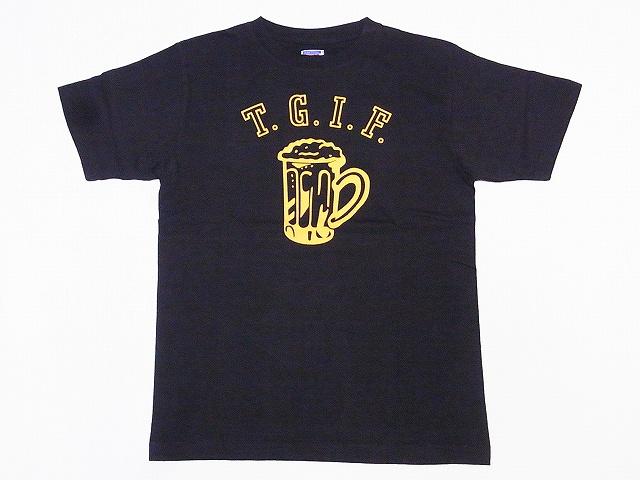 ダブルワークス DUBBLE WORKS Tシャツ T.G.I.F. 29133005-01