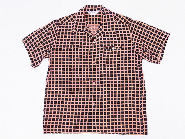 スターオブハリウッド オープンシャツ SQUARE GRID SH38126