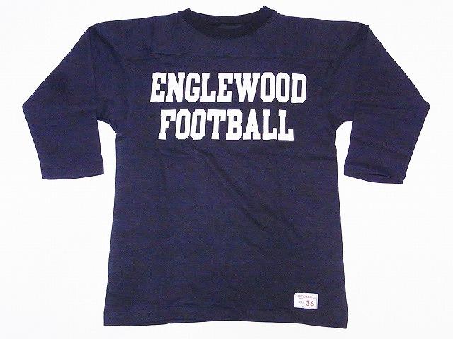 ウエアハウス フットボールTシャツ 4063 七分袖 ENGLEWOOD