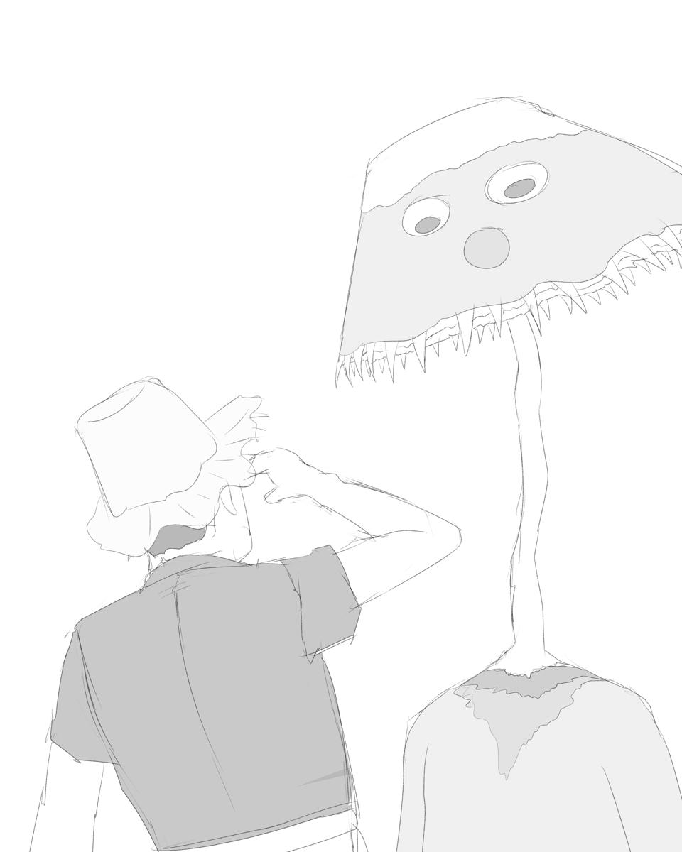 できるかな ノッポさんとゴン太くんの謎の円盤生物 異形