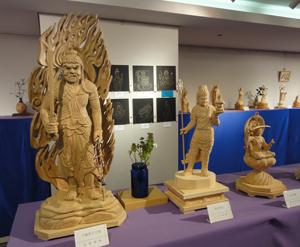 2019041426回佛像彫刻展blog0