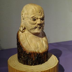 26回佛像彫刻展達磨blog01