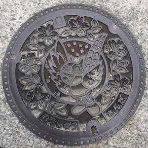 三田市マンホールの蓋blog01