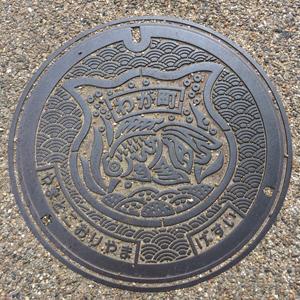 大和郡山マンホールの蓋blog0