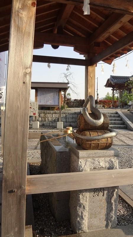 白蛇神社手水舎