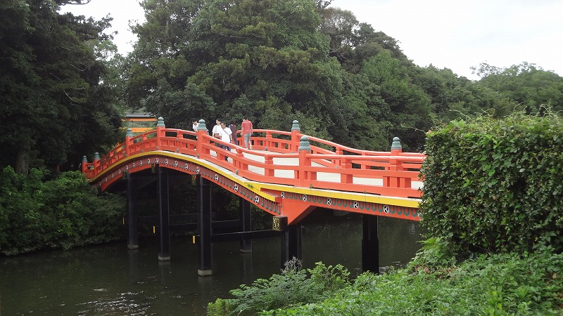 宇佐神宮の橋